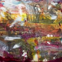 """""""Les vieilles pierres"""" (Alexandre MOLIERA) Acrylique sur toile 50x75cm"""