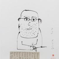 """""""Sans titre"""" (Serge BLOCH) 38x28,5cm"""